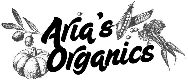 Aria's Organics logo